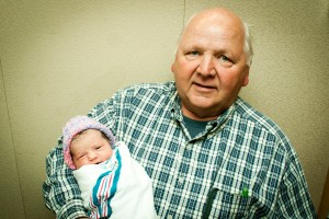Dad with Ella